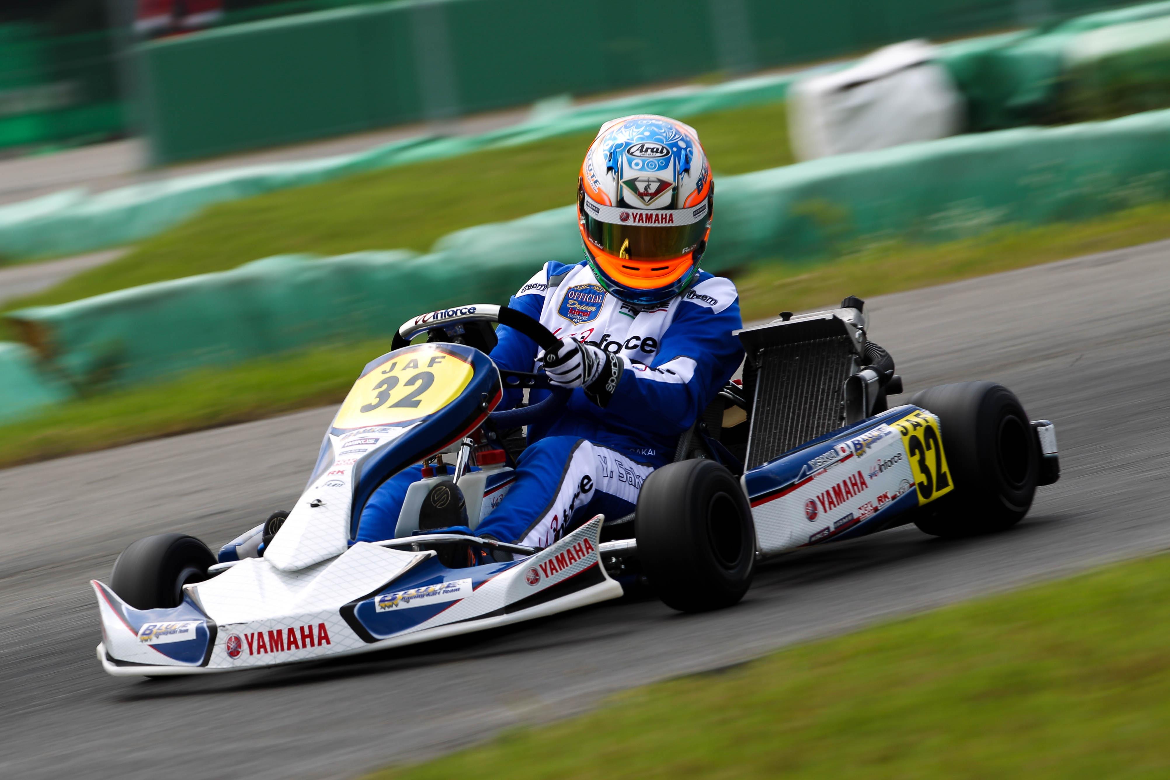 ヤマハ formula blue スカラシップ ドライバー募集のお知らせ カート