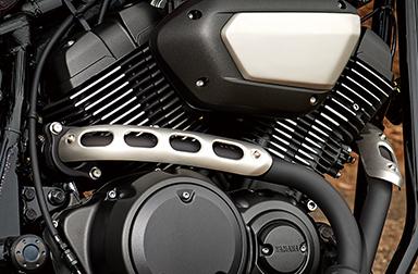 Động cơ đôi 60 độ V được làm mát bằng không khí hỗ trợ ánh sáng chạy