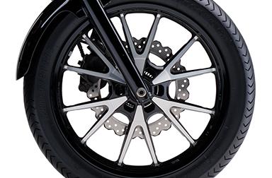Thông số kỹ thuật của BOLT R Bánh xe đúc ABS được thiết kế với độ dẻo dai