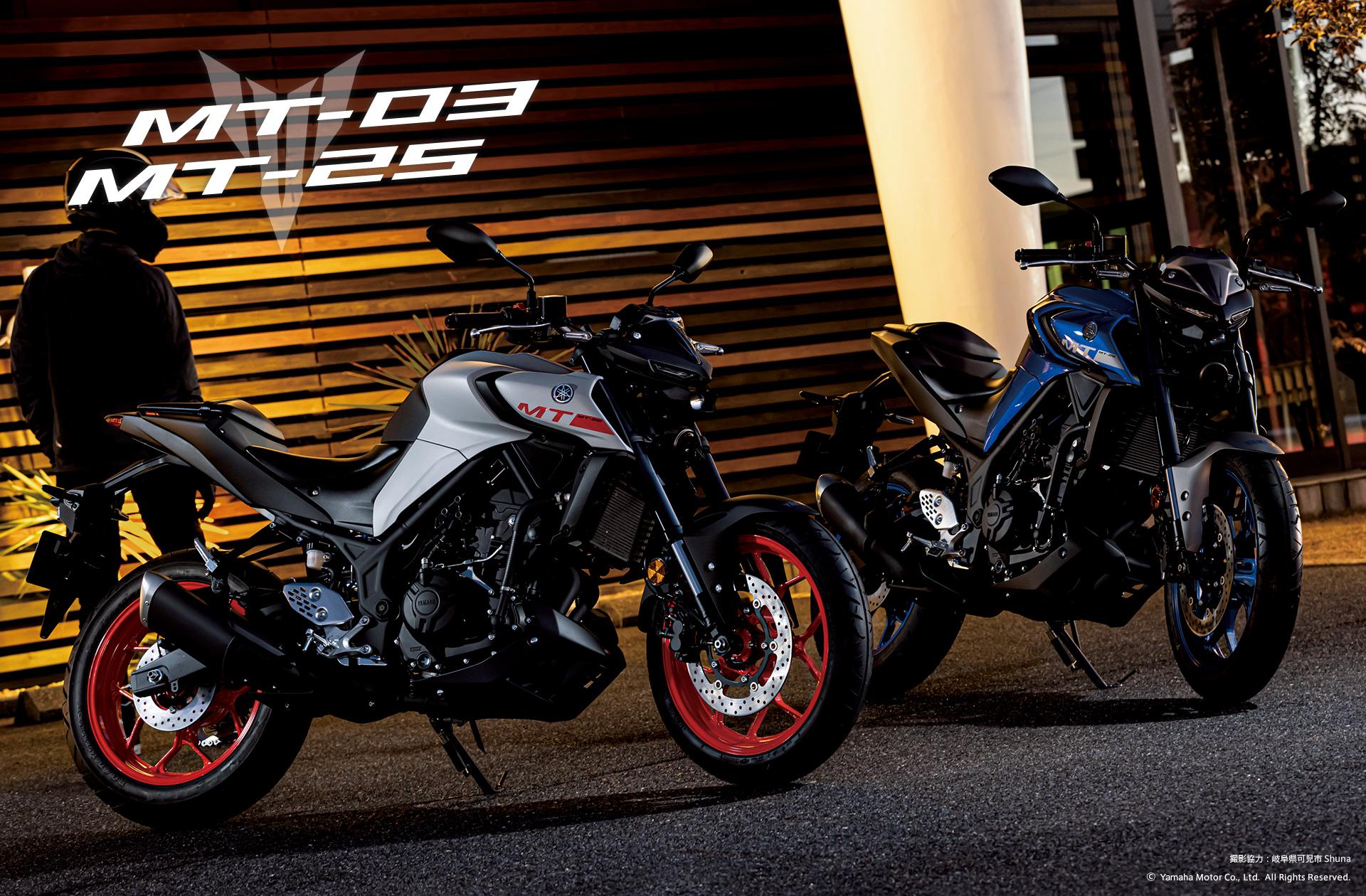 フォトライブラリー Mt 03 Mt 25 バイク スクーター ヤマハ発動機