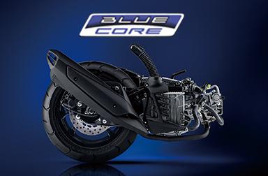 """「走り」と「環境性能」の融合""""BLUE CORE""""エンジンを搭載。"""