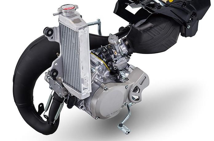 YPVSを搭載したパワフルな新エンジン