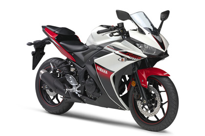 YZF-R3 ABS/YZF-R25 ABS/YZF-R25/ホワイトメタリック6(ホワイト/レッド)