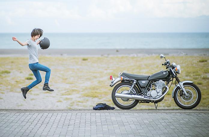 バイク女子のイメージ