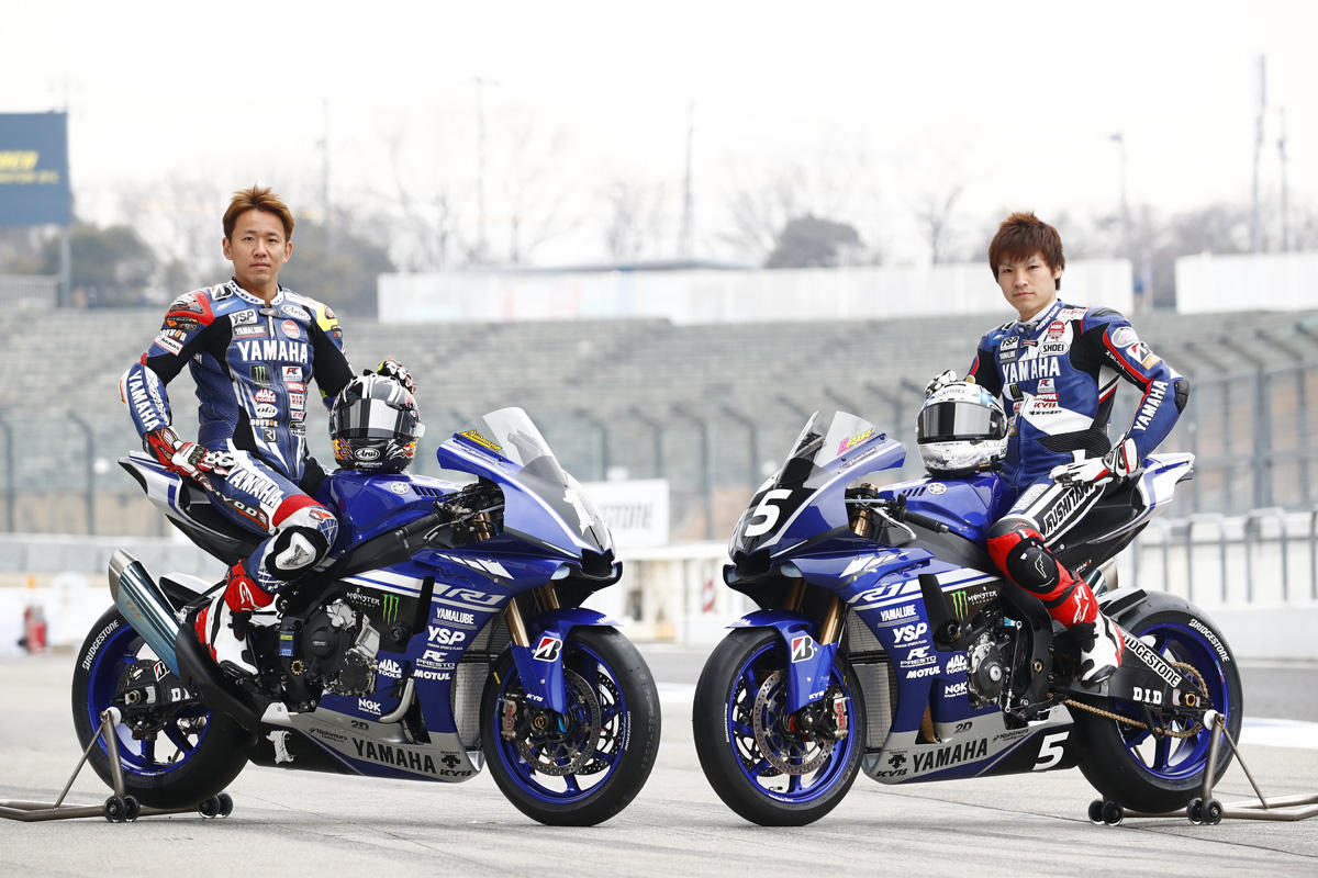 続いて新生「YAMAHA FACTORY TEAM」。