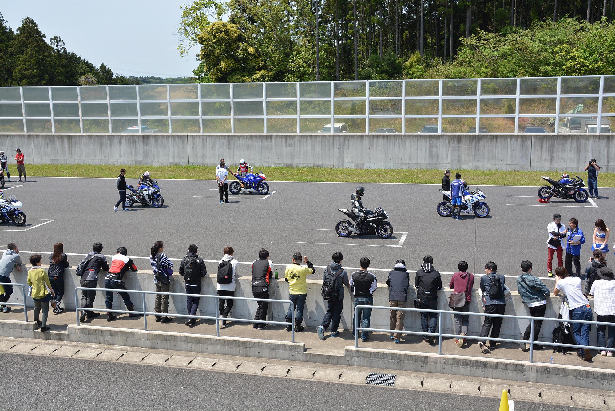 レースの見学2