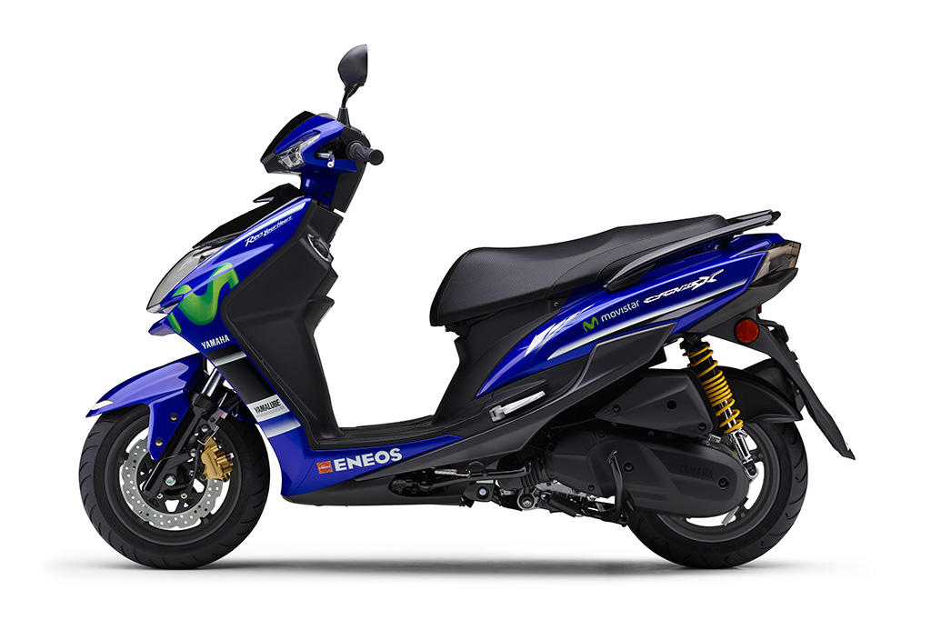 「シグナスX SR/Movistar Yamaha MotoGP Edition」