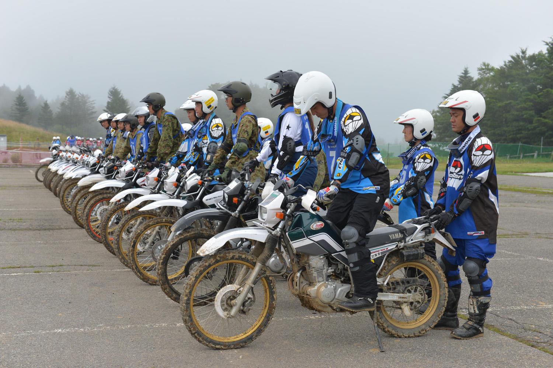 静岡市オフロードバイク隊 2日間の合同訓練に密着 - ヤマハ バイク ...