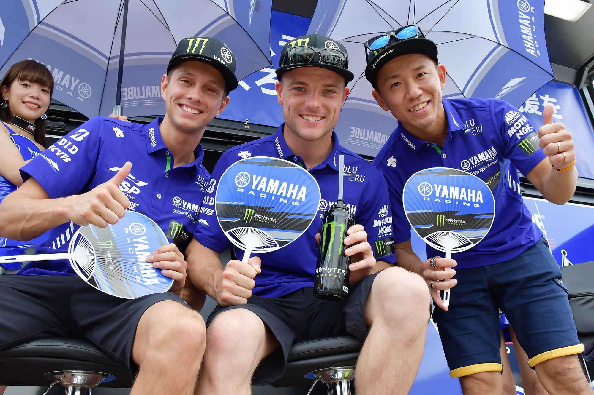 「YAMAHA FACTORY RACING TEAM」はもちろん