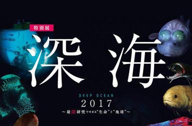 特別展「深海2017」にTeam KUROSHIOと行ってみよう!