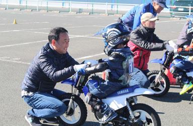 アドベンチャーコースとトライコースを連日開催!~親子バイク教室@はるの&本社編~