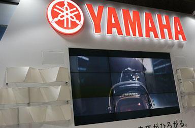 大盛況、大阪モーターサイクルショー ヤマハブース