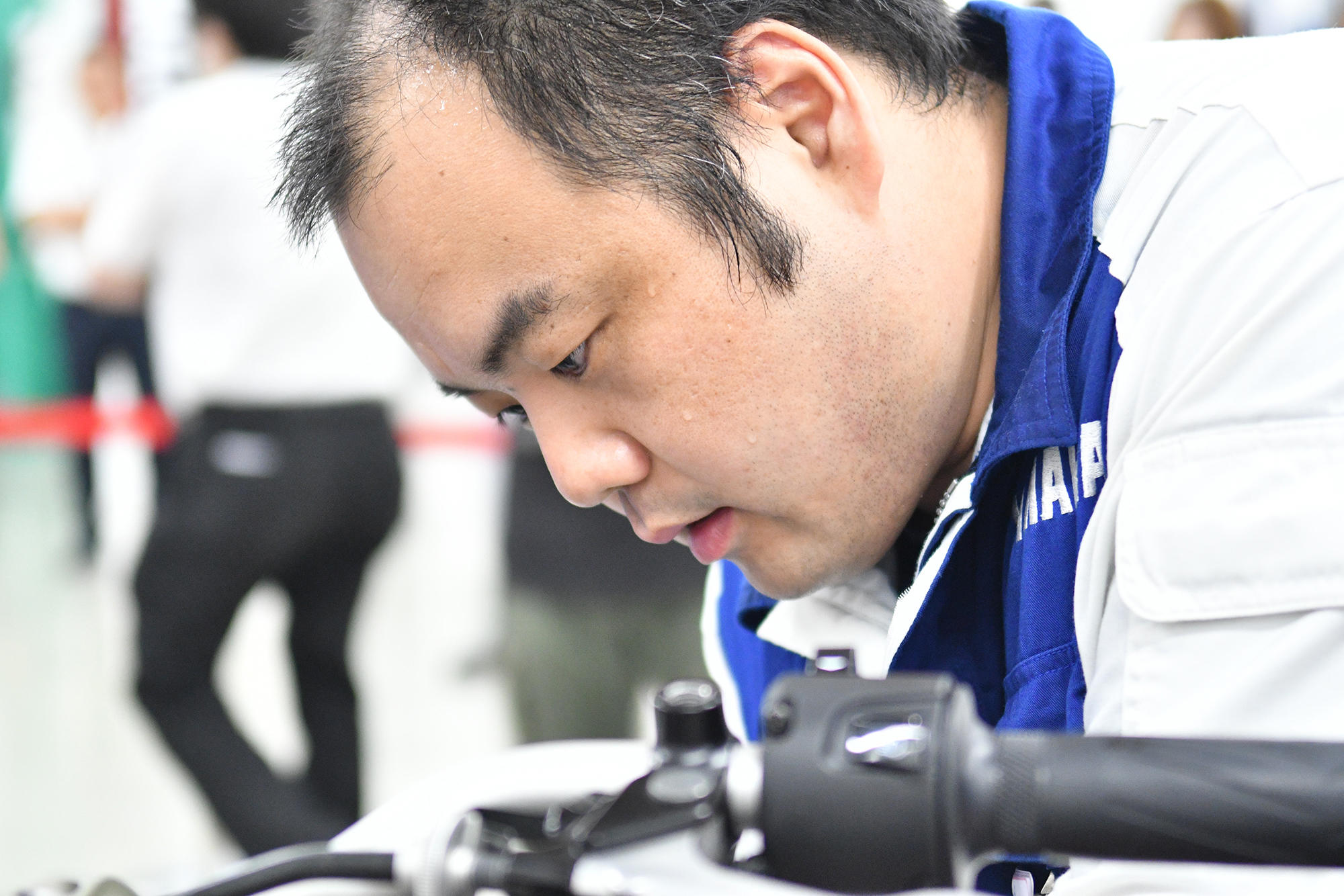 今回YAMAHA World Technician GP