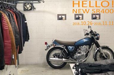 SR400展示 YAMAHA × ROARS ORIGINAL