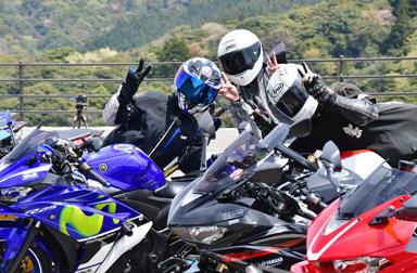 全国7会場で開催するYZF-R3/25オーナーズフォトツアー 次回は4/27(土) 広島・女鹿平温泉めがひらスキー場
