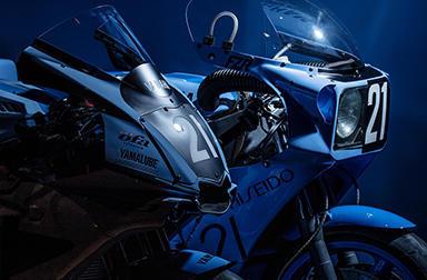 令和元年・R1誕生21周年に「ヤマハTECH21チーム」復刻カラーで8耐5連覇を目指すヤマハ勢に熱い声援を!5/25-26全日本SUGOで8耐参戦車展示