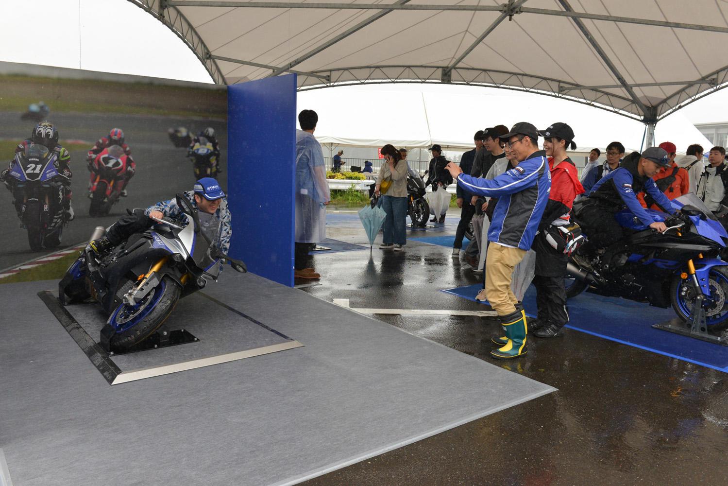 T-shirt moto YZF R6 racing team biker