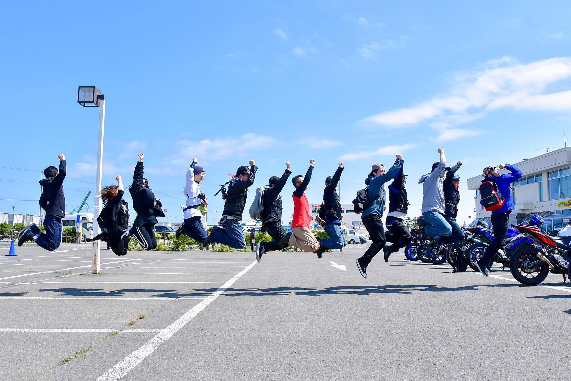 全7回会場で開催のYZF-R3/R25オーナーズフォトツアー、北海道会場で完!たくさんのご来場ありがとうございました!!