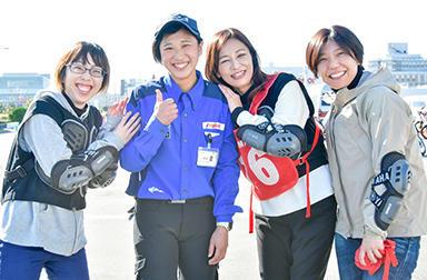 みなとまち神戸でYRA女性限定レッスン★バイクを楽しみたい女性ライダーたちのリアルな声、集めました。