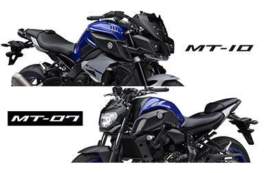 MT-10 / MT-07 2020モデル発表